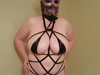 Lateshay 38HH tits party tease compilation 5