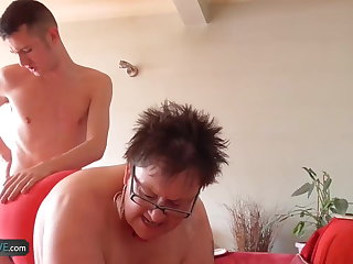 AgedLove Fat mature Highly priced hardcore with Sam Bourne