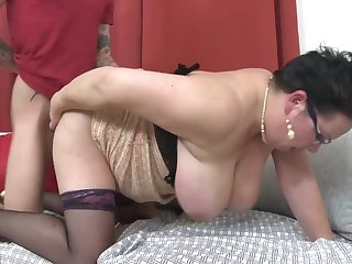 Heavy grown-up mothers fucking lucky go forth