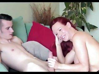 Amateur Irish redhead stepmom porn video