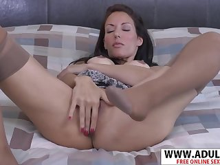 Hot MILF Olivia Panic Solo