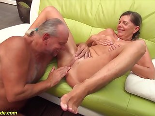 sexy underfed german pigtailgranny gets rough doggystyle big cock fucked wide of her pinch pennies