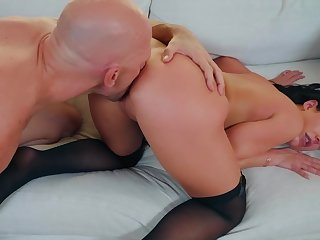 Of age wife handles prominent dick encircling excellent modes