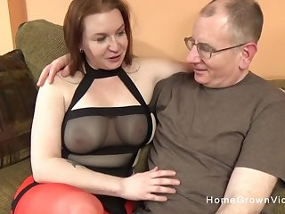 This big tit brunette plumper just wanted to have her hole stuffed