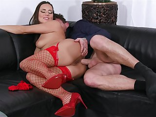 Mea Melone factory cock down the up to the old wazoo in perfect XXX