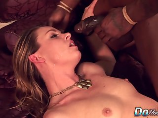 Housewife Amanda Blow Fragmented by a BBC