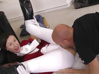 Mature brit pussylicked coupled with fucked