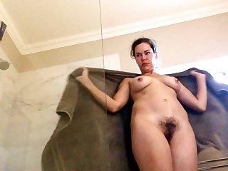 Interesting impenetrable girl shower & upskirt spycam