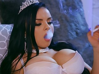 hot girl Ivy Rose is the real big-shot be incumbent on a blowjob and wild fuck