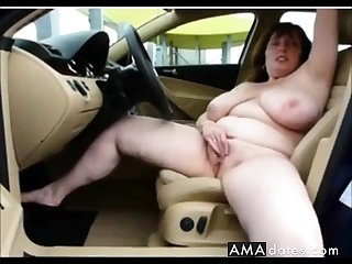 german obese boobs mature masturbate  on car
