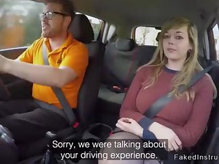 Fat booty driving college cookie plowing