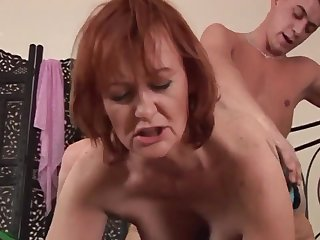Warmness Housewife Redhead Spitfire Sucks And Fu - high definition