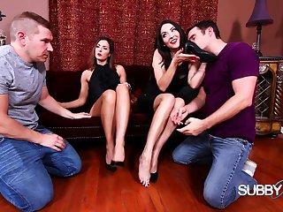 Foot teasing femdom fetish bungle