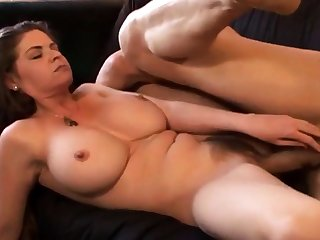 Hairy cunt big boobs riding