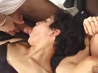 Two mature hairy french hot girls