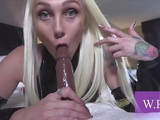 A Very Steamy And Kinky Blonde Trollop Fucked - position