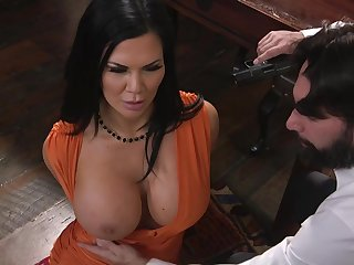 Perfect raven specialization powerful cock down her holes