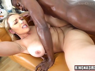 Joslyn Jane Hard Fuck Pounded Away from A Big Black Penis