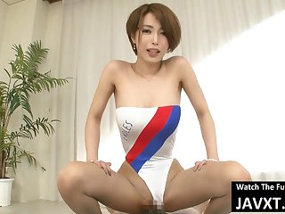 Perfect Japanese Babe Relative to Swimsuit Fucked - hitomi tanaka
