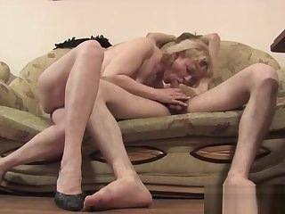 Skinny Blonde Slut Has Doggystyle Anal Sex