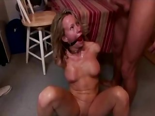 Gung-ho Milf Used Together with Misused