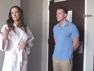 Chanel Preston comes to get a massage and gets fucked hard