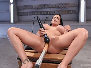 Going to bed machine extreme orgasms for burnish apply chunky ass wife