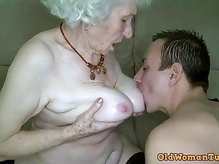 Grandma Xozilla Porn Movies Star Norma Getting Laid her Boy Toy.