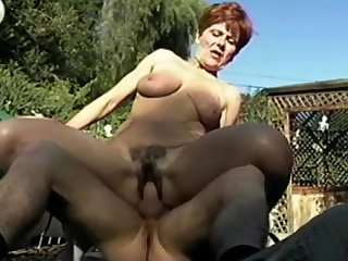 Granny Ariel - Have a crush on relating to Fuck