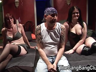 Filthy MILF brought daughter nigh hardcore group be captivated by party