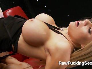 Raw Fucking Sex - Kinky Cindy Behr Rammed Hard