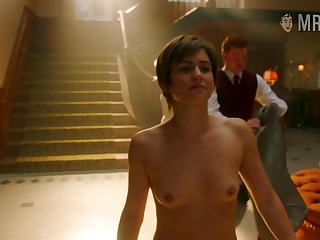 Awesome American actress Diane Private road and some nice titties massage