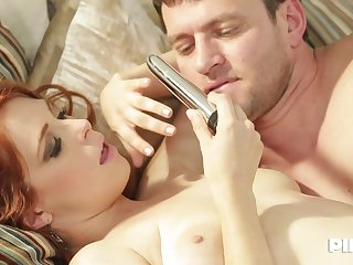 Red haired slut, Penny Pax is fucking her best friend's boyfriend, every once in a while