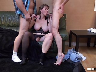 Chubby milf wife wants a younger alien cock
