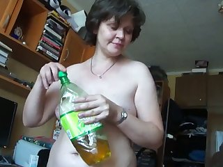 This mature Russian woman twists me on big time plus she gives amenable head